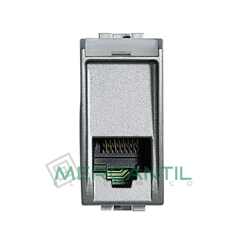 Base RJ11 - 4 Conectores 1 Modulo Living Light BTICINO Tech