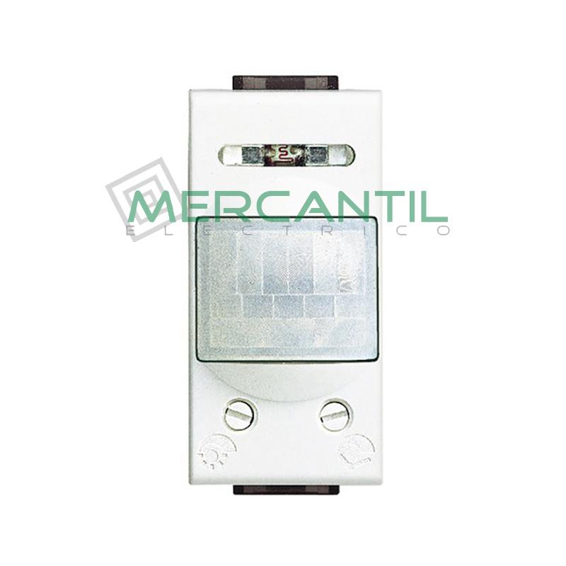 Interruptor de Rayos Infrarrojos Pasivos 1 Modulo Living Light BTICINO Blanco