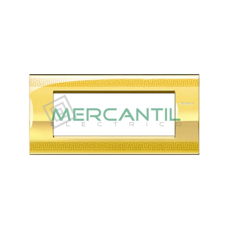 Marco Cuadrado Rectangular Living Light Air BTICINO - Color Greek 7 Modulos Cuadrada Rectangular Greek