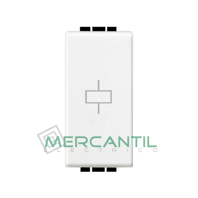 Rele Monoestable 1 Modulo Living Light BTICINO Blanco