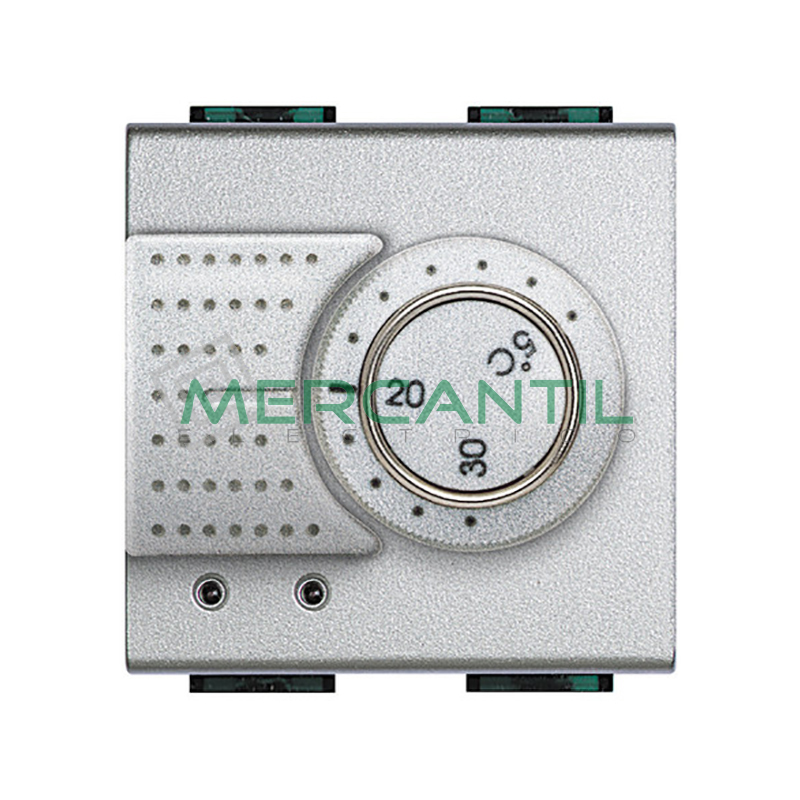 Termostato Estandar 2 Modulos Living Light BTICINO Tech