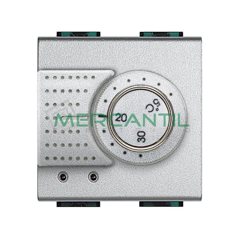 Termostato Estandar con Conmutador 2 Modulos Living Light BTICINO Tech
