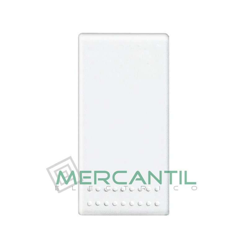 Pulsador Iluminable Bipolar 1 Modulo Living Light BTICINO Blanco