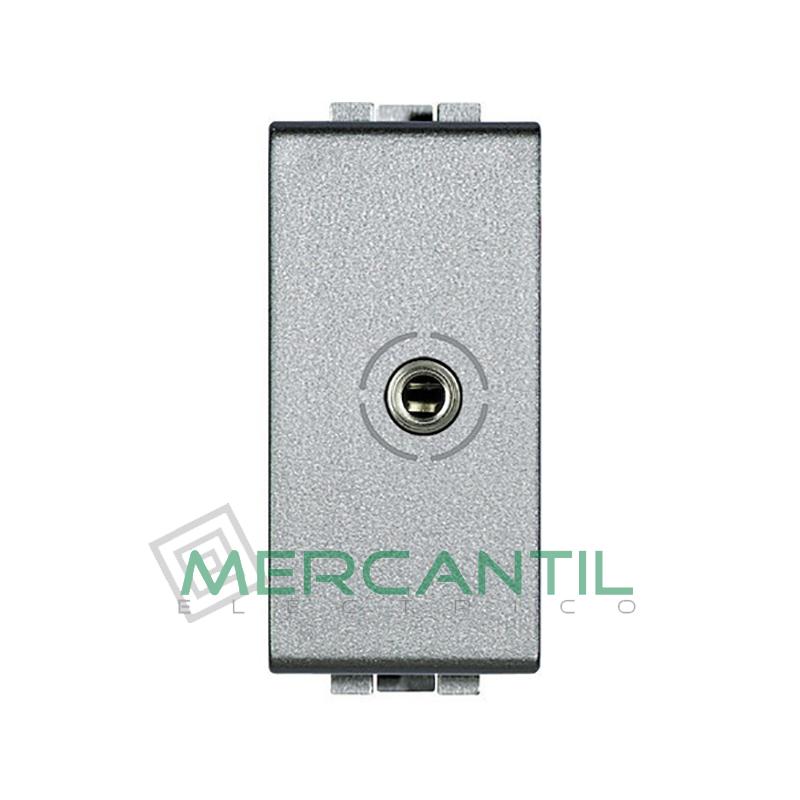Base Jack 3.5 mm 1 Modulo Living Light BTICINO Tech