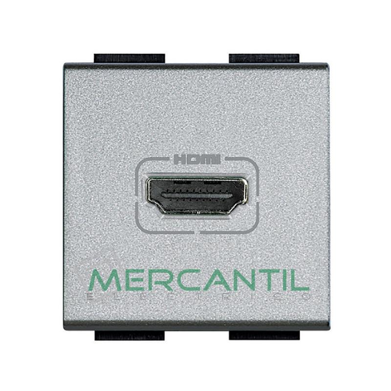 Base HDMI 2 Modulos Living Light BTICINO Tech