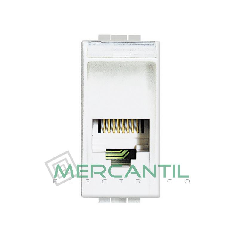 Base RJ11 - 4 Conectores 1 Modulo Living Light BTICINO