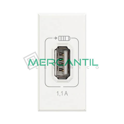 Base USB con Tension 5V 1 Modulo Axolute BTICINO
