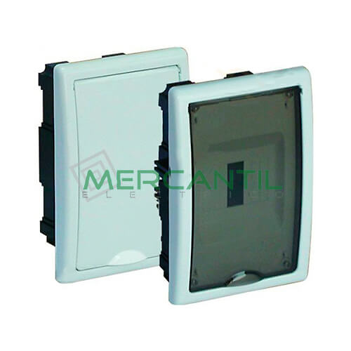 Caja ICP Empotrar de 1 a 4 Elementos 40A 125x192x72 SOLERA