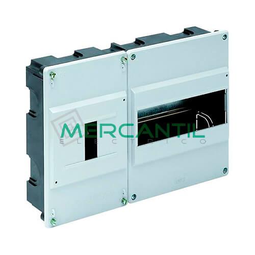 Caja ICP Empotrar de 1 a 4 Elementos 40A y Distribución hasta 12 Elementos 348x188x55 SOLERA