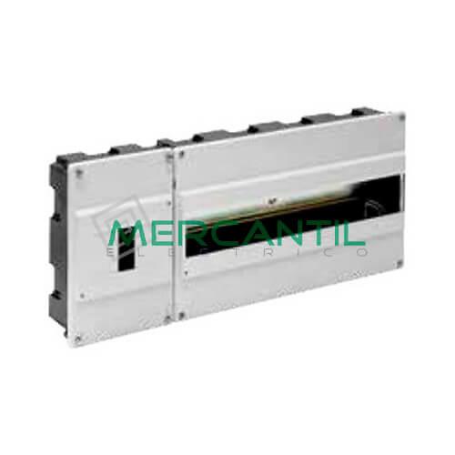 Caja ICP Empotrar de 1 a 4 Elementos 40A y Distribución hasta 16 Elementos 420x188x55 SOLERA