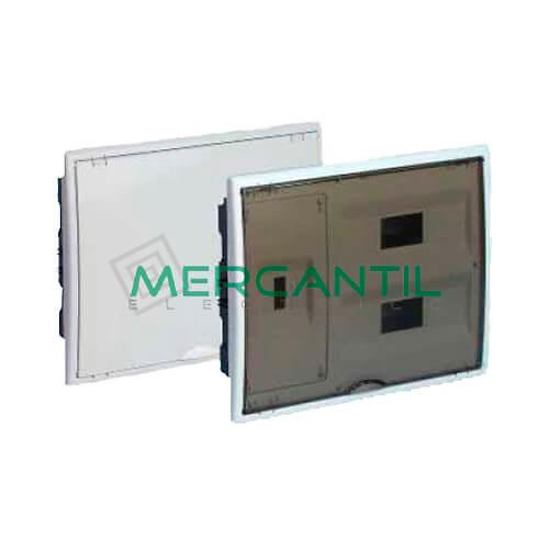 Caja ICP Empotrar de 1 a 4 Elementos 63A y Distribución hasta 24 Elementos 400x320x72 SOLERA