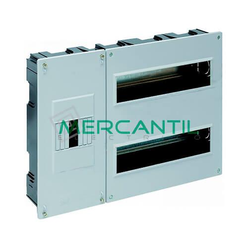 Caja ICP Empotrar de 1 a 4 Elementos 63A y Distribución hasta 24 Elementos 410x270x68 SOLERA