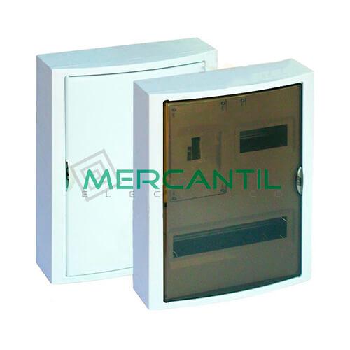 Caja ICP Superficie de 1 a 4 Elementos 40A y Distribución hasta 20 Elementos 362x438x104 SOLERA