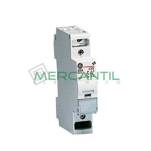Contactor Modular CONTAX 2NA 20A GENERAL ELECTRIC Ref: 666131