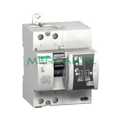 Interruptor diferencial rearmable red 2p calibre 40a - Interruptor diferencial precio ...
