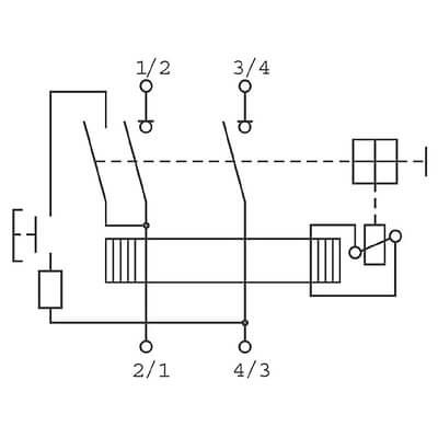 Interruptor Diferencial Superinmunizado 2P 40A 30mA AI GENERAL ELECTRIC