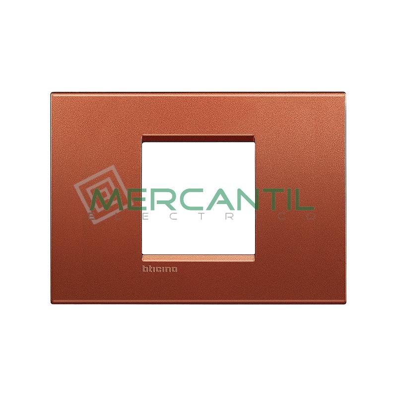 Marco Cuadrado Rectangular Living Light BTICINO - Color Brick