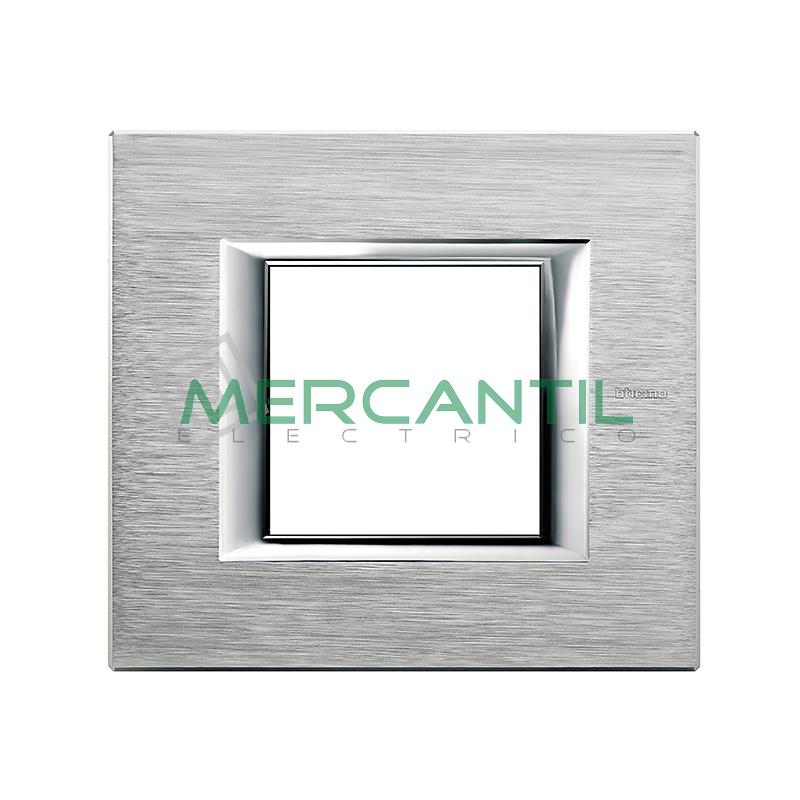 Marco Rectilíneo Universal Axolute BTICINO - Color Cromo