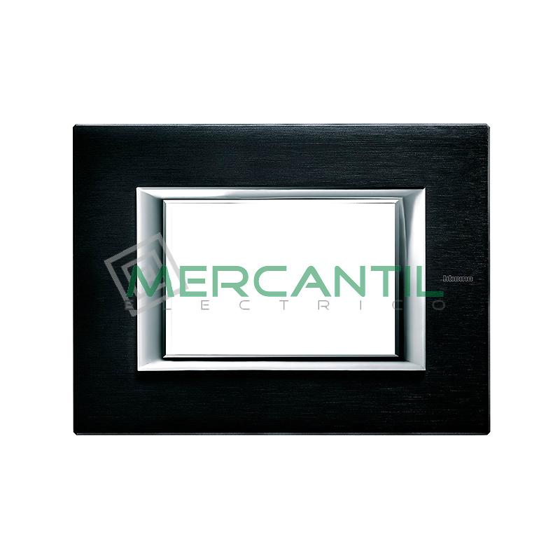 Marco Rectilineo Rectangular Axolute BTICINO - Color Antracita Satinado