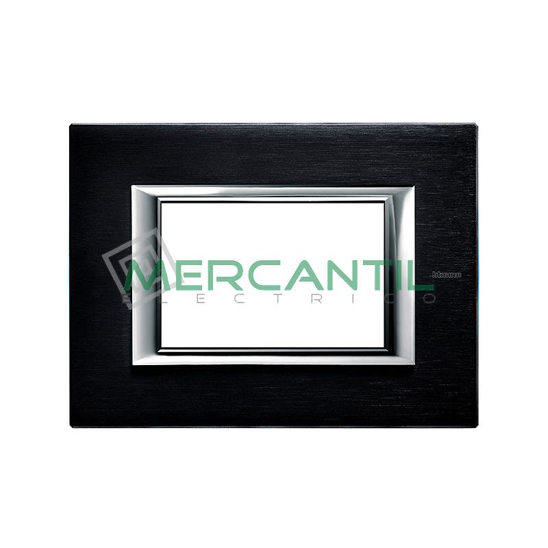 Marco Rectilineo Rectangular Axolute BTICINO - Color Ardesia