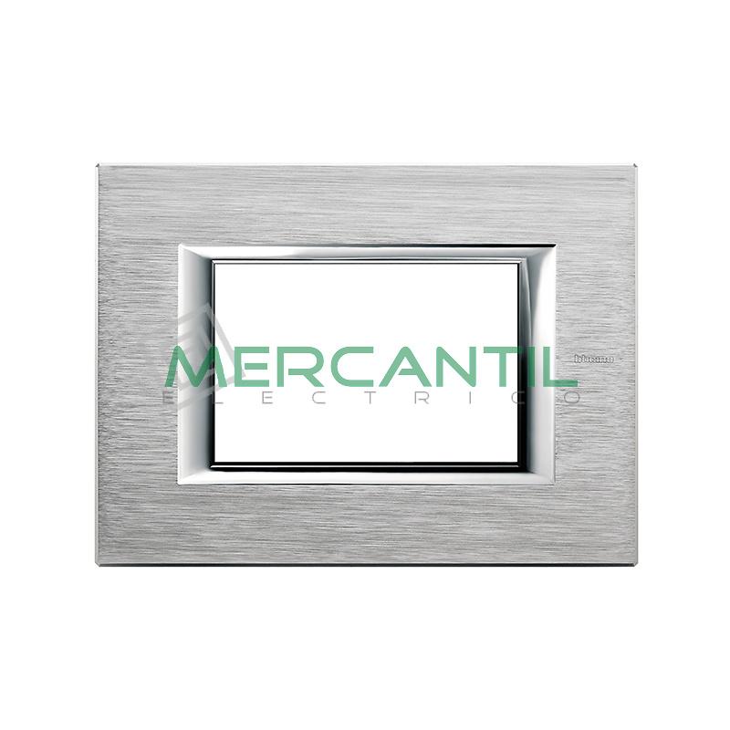 Marco Rectilineo Rectangular Axolute BTICINO - Color Cromo