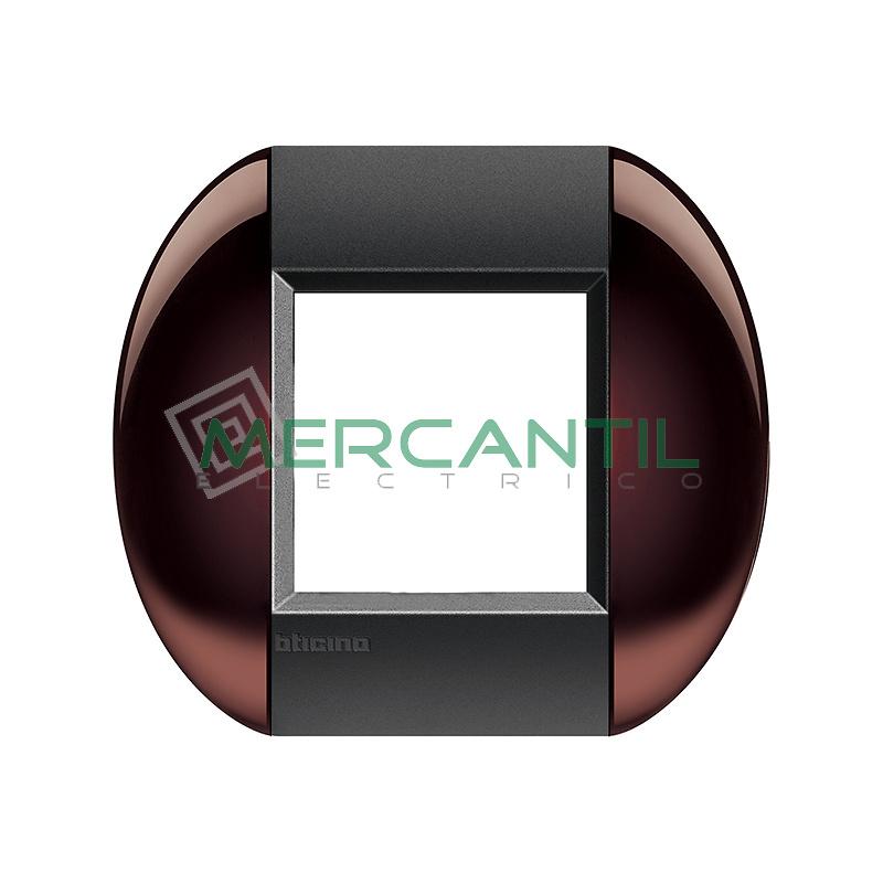 Marco Redondo Universal Living Light BTICINO - Color Marron