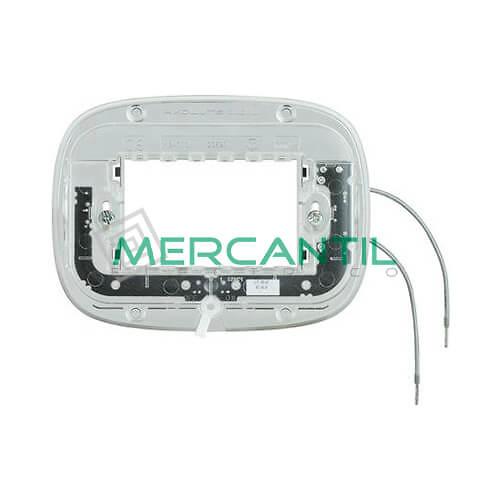 Soporte Luminosos para Placas Elipticas 3 Modulos Axolute BTICINO - 2.5mA/0.3W/230V