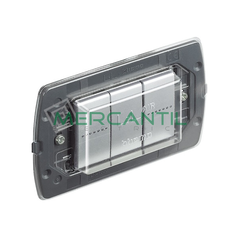 Soporte para Placas Air 3 Modulos Living Light Air BTICINO