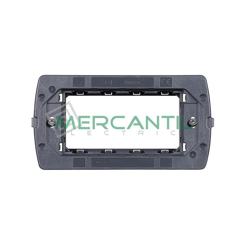 Soporte para Placas Air 4 Modulos Living Light Air BTICINO