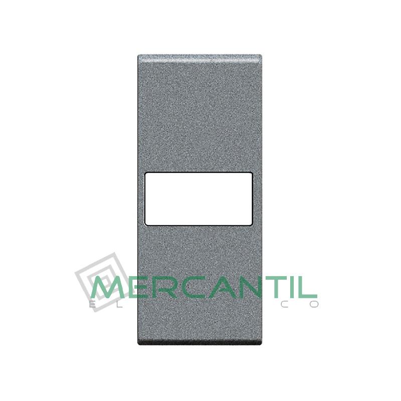 Tecla Axial con Lente Personalizable 1 Modulo Living Light BTICINO