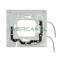 Soporte Luminosos para Placas Rectilineas 2 Modulos Axolute BTICINO - 2.5mA/0.3W/230V