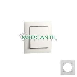 Marcos Color Base LOGUS 90 EFAPEL BLANCO 1 Elemento