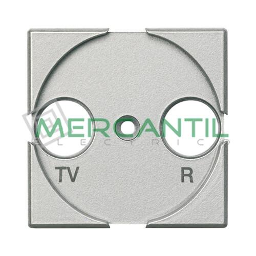 Tapa Adaptador con Serigrafia TV-R 2 Modulos Axolute BTICINO Tech