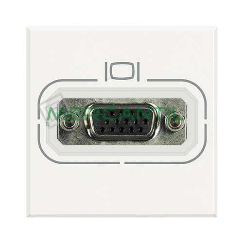 Base VGA HD15 2 Modulos Axolute BTICINO Blanco