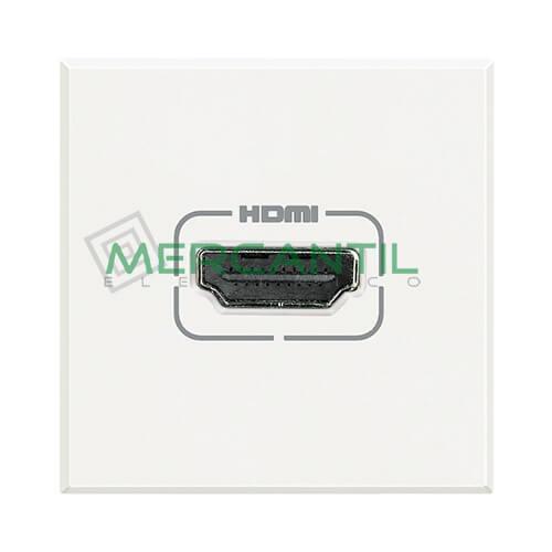Base HDMI 2 Modulos Axolute BTICINO Blanco