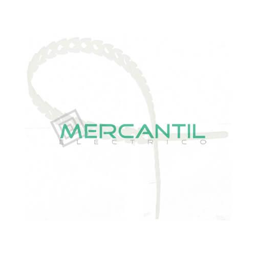 Bridas Desmontables para Cables RAPSTRAP SCHNEIDER 10 1.25 300 Blanco 24