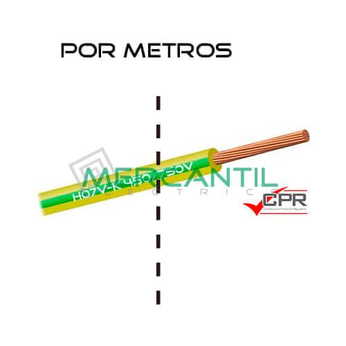 Cable Flexible de PVC 35mm 450/750V H07V-K CPR - Por Metros 35 H07V-K Amarillo/Verde 1