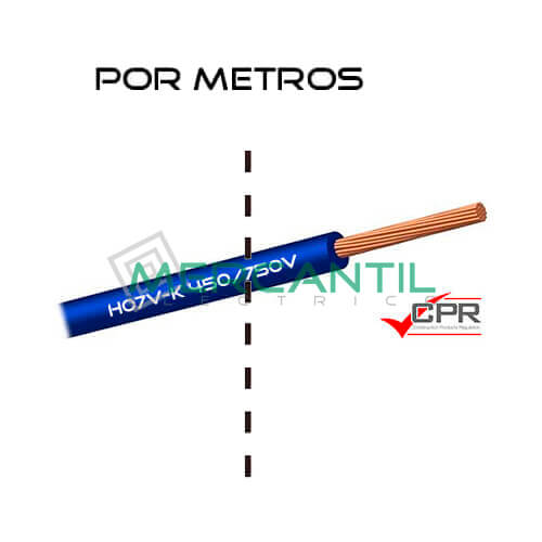 Cable Flexible de PVC 35mm 450/750V H07V-K CPR - Por Metros 35 H07V-K Azul 1