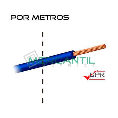 Cable Flexible Libre de Halogenos 16mm 450/750V H07Z1-K CPR - Por Metros 16 H07Z1-K Azul 1