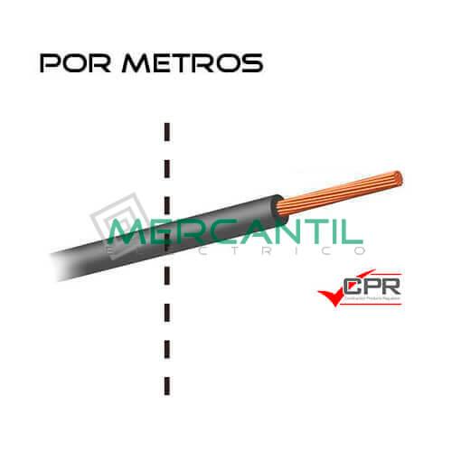 Cable Flexible Libre de Halogenos 120mm 450/750V H07Z1-K CPR - Por Metros 120 H07Z1-K Gris 1