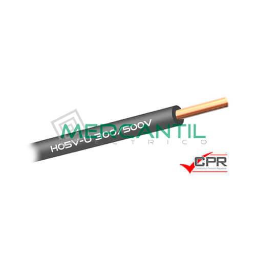 Cable Rigido de PVC 1mm 300/500V H05V-U CPR - 200 Metros 1 H05V-U Gris 200
