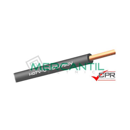Cable Rigido de PVC 1.5mm 450/750V H07V-U CPR - 200 Metros 1.5 H07V-U Gris 200