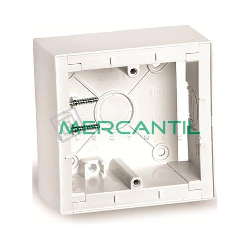 Caja Modular de Superficie BJC VIVA Blanco Polar 86x86x43