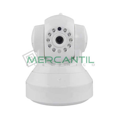 Camara IP WIFI HD PTZ UNIVERS Blanco
