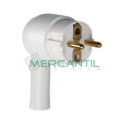 Clavija de Enchufe con Facil Extraccion 2P+T 16A LEGRAND Blanco