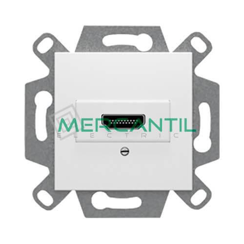 Conector HDMI Tipo A BJC VIVA Blanco Polar