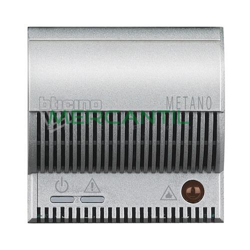 Detector de Gas Metano con Señalizador Optico/Acustico 2 Modulos Axolute BTICINO Tech