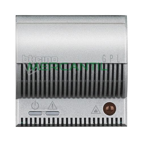 Detector de Gas Licuado de Petroleo con Señalizador Optico/Acustico 2 Modulos Axolute BTICINO Tech