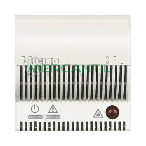 Detector de Gas Licuado de Petroleo con Señalizador Optico/Acustico 2 Modulos Axolute BTICINO Blanco