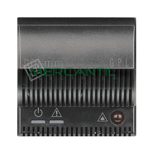 Detector de Gas Licuado de Petroleo con Señalizador Optico/Acustico 2 Modulos Axolute BTICINO Antracita